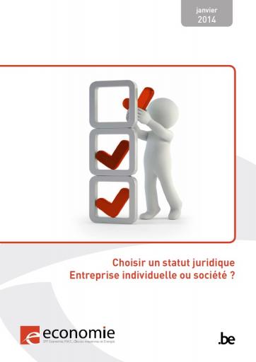 Brochure - Choisir un statut juridique - Entreprise individuelle ou société ?