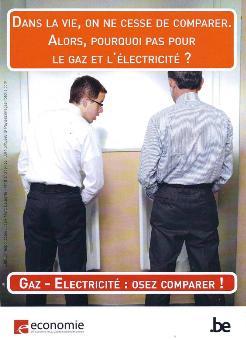 Gaz - Electricité : Osez comparer !